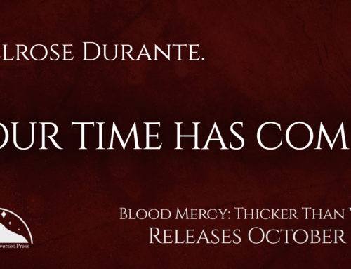 Blood Mercy: Thicker Than Water Blog Tour!