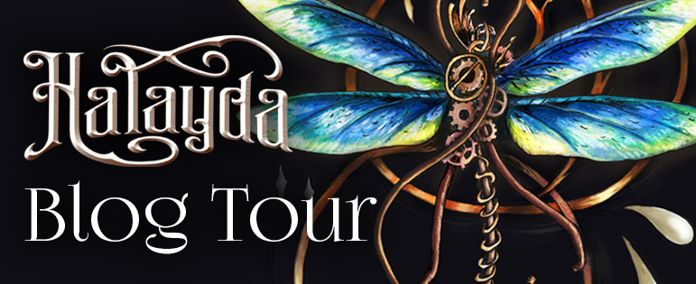 Halayda Blog Tour Banner